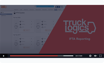 IFTA Fuel Tax Reporting Software