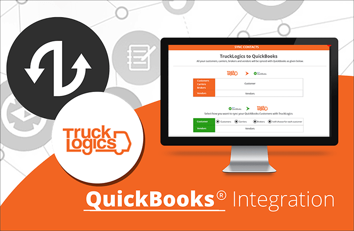quickbooks integration with trucklogics